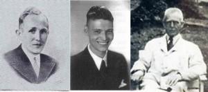 Coen Hilbrink, Dirk Ruijter en Sietze Hilbrink werden door de Duitsers neergeschoten