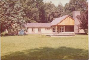 Huize Lidwina zoals dat na de oorlog door Cor Hilbrink opnieuw is opgebouwd